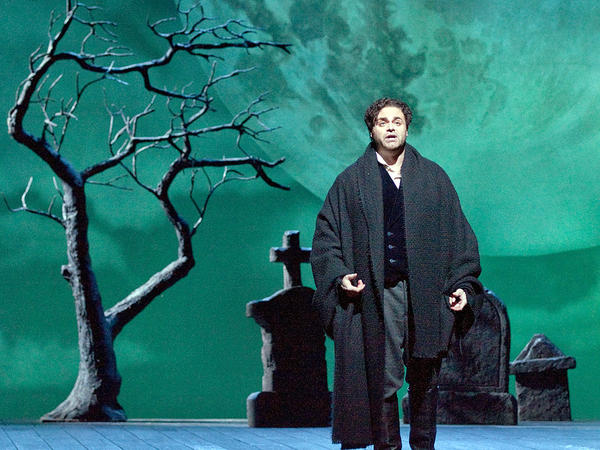 <p>Joseph Calleja as Edgardo in the Metropolitan Opera production of Donizetti's <em>Lucia di Lammermoor</em>. </p>