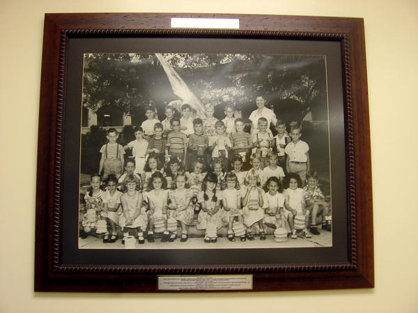 <p>A photo at Coral Way Elementary School, one of the first bilingual schools in the country, shows some of the school's first students. </p>
