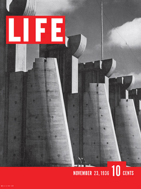 The first cover of <em>Life</em> magazine