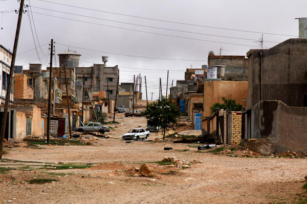 This abandoned village outside the city of Zintan was populated by pro-Gadhafi families from the Mushashya, a nomadic tribe from southern Libya. Fighters from Zintan, which rebelled against Gadhafi forces, are hoping they won't come back.