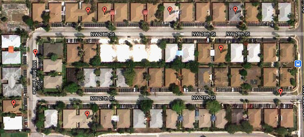 "There are eight active assisted-living facilities on the U-shaped block of Cannon Point. <a href=""http://www.batchgeo.com/map/1b2fdfe8910615f3901d46b4a2a0817b"">Click to explore an interactive map</a> of all ALFs in Florida."