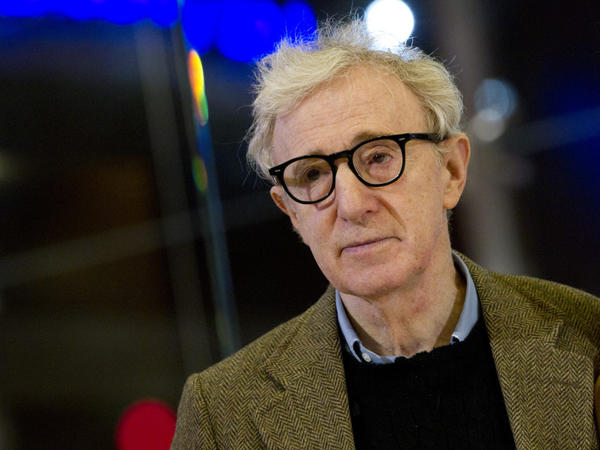 Woody Allen at the Italian-language premiere of <em>To Rome With Love</em>, in Rome, April 13.