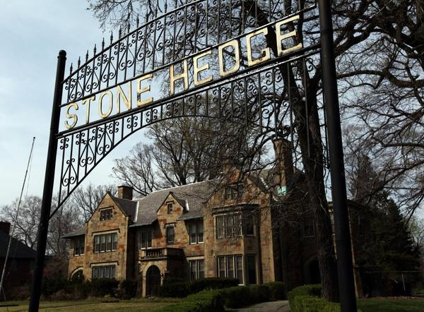Stone Hedge, a 10,000-square-foot Detroit mansion built in 1915 is listed at less than $450,000.