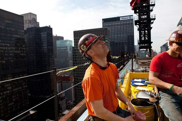 "Kaniehtakeron ""Geggs"" Martin is a fourth-generation ironworker from Kahnawake, a Mohawk reservation south of Montreal."