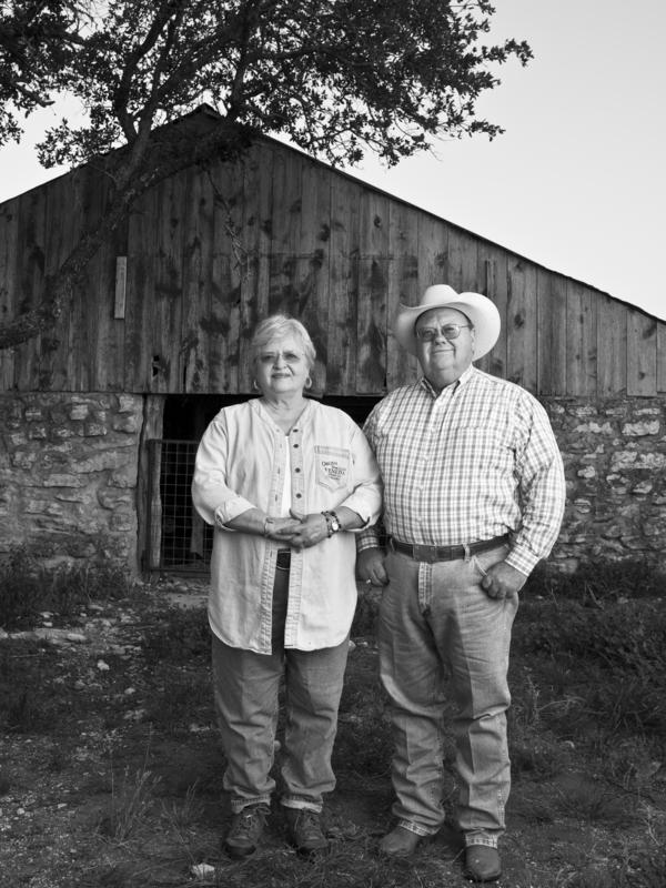 Siblings Charles Hagood and Nancy Hagood Nunns grew up in Junction, Texas, in the 1950s. Charles says the drought drove ranchers to find other types of work.