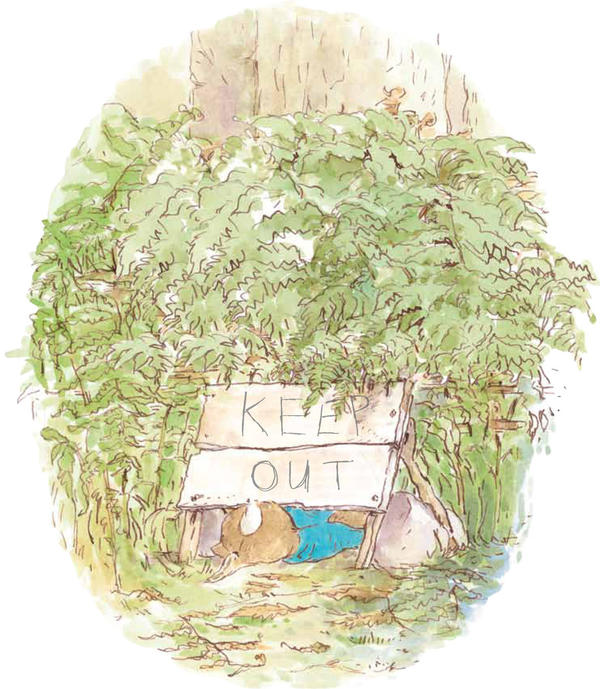 Thompson preserves Peter Rabbit's reputation for breaking the rules.