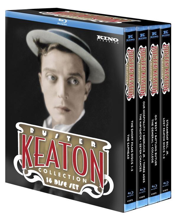 The 14-disc <em>Ultimate</em> Keaton<em> </em>collection is a treasure trove of silent-comedy genius, says NPR's Bob Mondello.