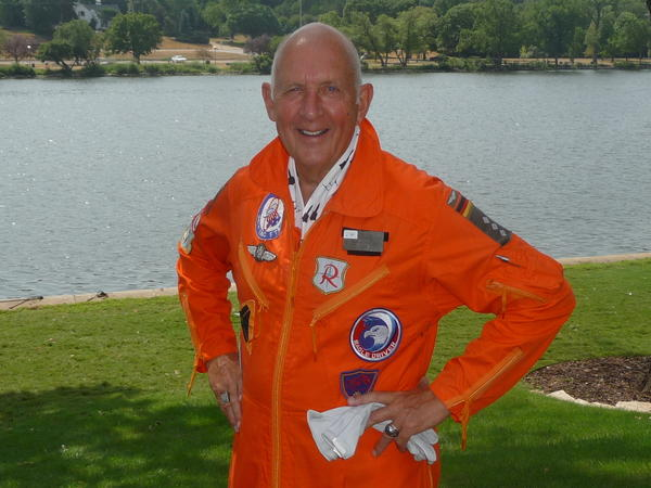 Retired Air Force Maj. Gen. John Borling is a native Chicagoan and an Air Force Academy graduate.
