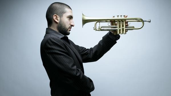 Classically trained Lebanese trumpeter Ibrahim Maalouf plays a four-valved trumpet, an innovation he credits to his famous father.