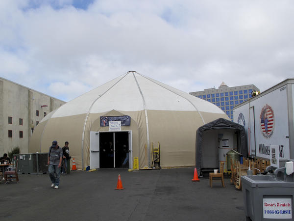 The use of the temporary winter shelter — which was scheduled to close April 1 — has been extended for another three months by San Diego Mayor Bob Filner and the city council.