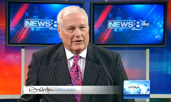 Dale Hansen's commentary on gay athletes has gone viral. (WFAA-TV)
