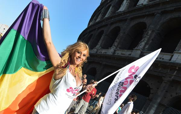 This year's annual gay pride parade in Rome, held in June, drew an estimated 100,000 people. Right-wing opposition has stalled a bill in Italy's parliament that would outlaw discrimination on the grounds of homophobia.