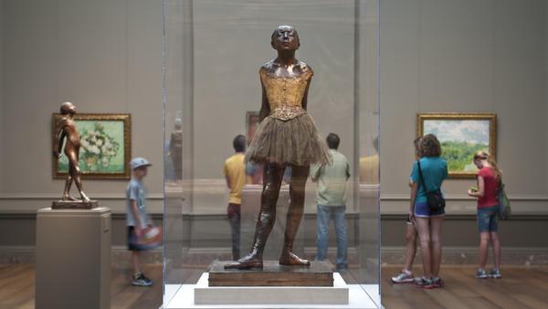 Edgar Degas' <em>Little Dancer Aged Fourteen</em> is on display at the National Gallery of Art until Jan. 11.