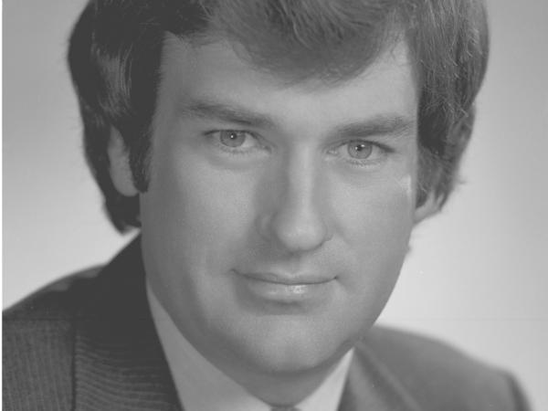 Bill O'Reilly in July 1980, when he worked for CBS News. He helped cover the Falklands War for the network two years later.