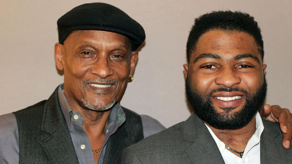 Willie Watson, 63, and his son, PJ Allen, another survivor of the Oklahoma City bombing.