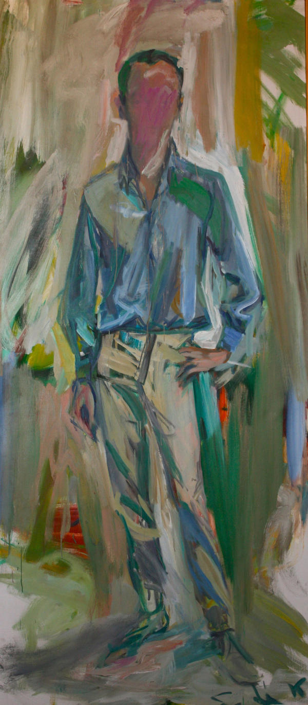 "De Kooning believed that ""the pose was the person"" — and created a portrait of poet Frank O'Hara that does not show his face."