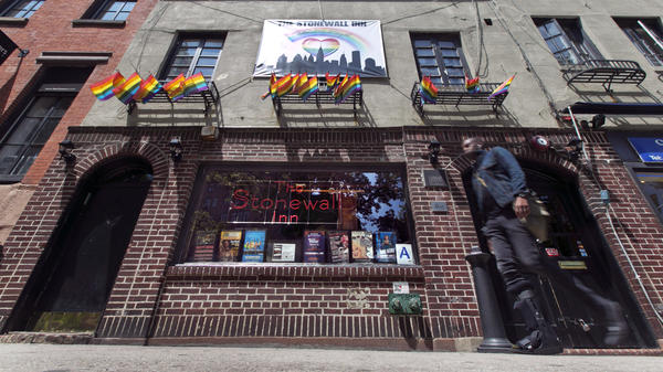 The Stonewall Inn in New York's Greenwich Village is now a national historic landmark and popular tourist destination.