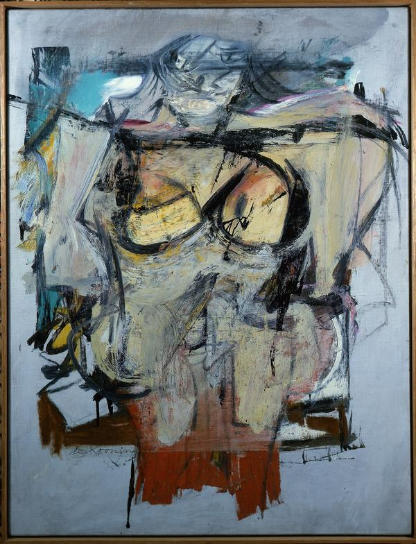 Willem de Kooning's <em>Woman — Ochre </em>(oil on canvas, 1954-55) has been missing for 30 years.