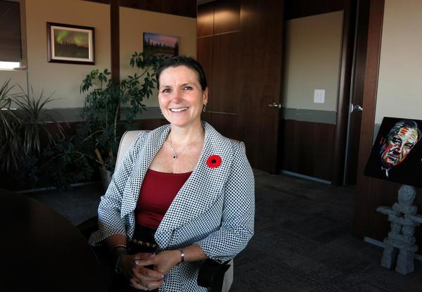 Mayor Melissa Blake, Regional Municipality of Wood Buffalo, says the area's growth has slowed amid falling oil prices.