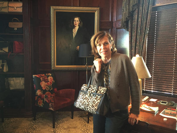Designer Kate Woolstenhulme of Plano, Texas, created a line of concealed-carry handbags after she couldn't find one that was both safe and fashionable.