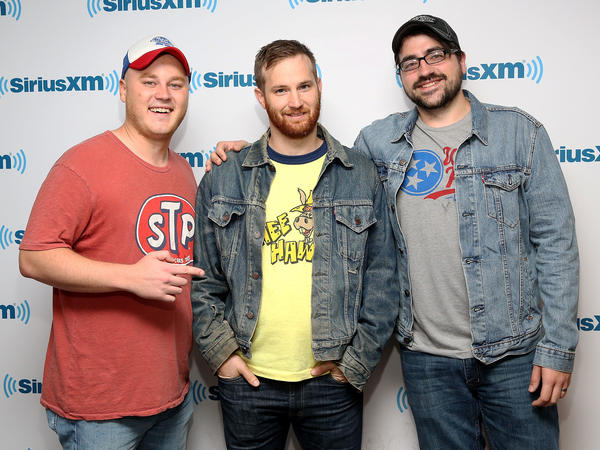 Corey Ryan Forrester, Drew Morgan and Trae Crowder write and perform together. They wrote a book called <em>The Liberal Redneck Manifesto, </em>which challenges what readers might expect from Southern comedy.