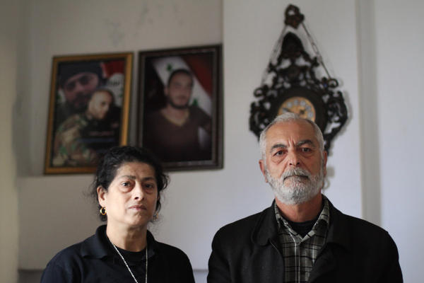 Hussein al-Ibrahim and his wife lost both their sons during a four-month span earlier this year.