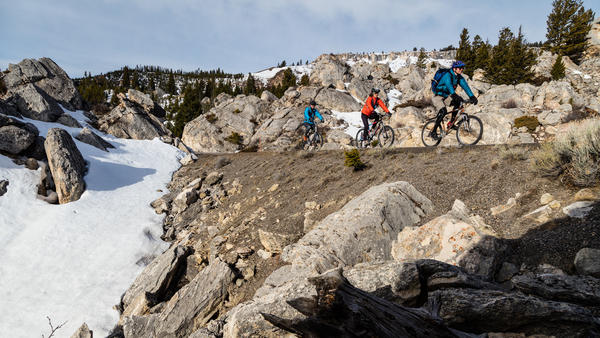 Every spring Yellowstone opens about 50 miles of its main thoroughfares to bikes only.