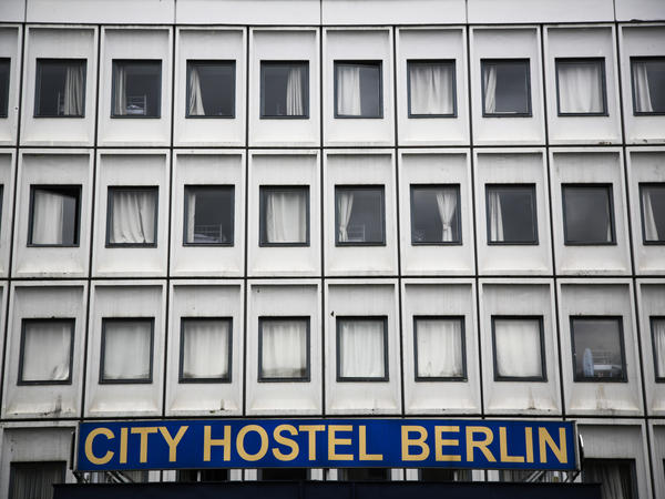 The German government says it will shut down Cityhostel Berlin, a source of money for its owner, North Korea. Above, the hostel on Wednesday.