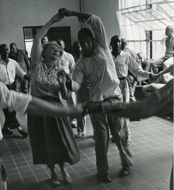 For many decades, Marian Chace led the dance therapy program at St. Elizabeths. The photo above was taken circa the 1960s.