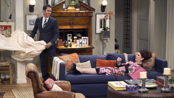 <em>Will & Grace</em> was groundbreaking network television in its initial run, but some critics worry the new episodes will feel stale. (Pictured: Eric McCormack and Megan Mullally)