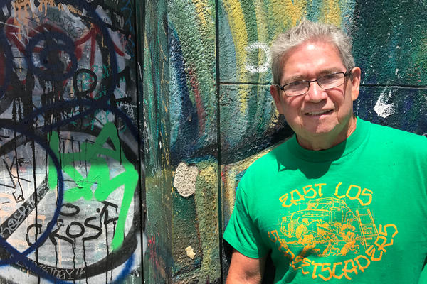 Wayne Healy, a founding member of East Los Streetscapers, says he wanted to paint a positive picture of and for the Chicano community.