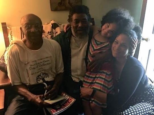 Jaya, Kashala and Wadada Leo Smith with Oneal Jones.