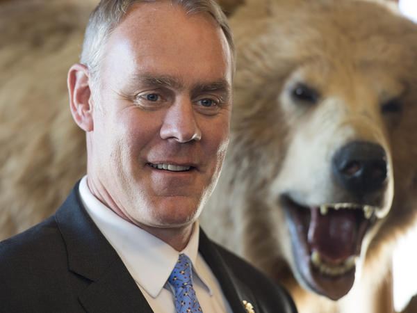 Interior Secretary Ryan Zinke had a hunting video game installed in the agency's cafeteria.