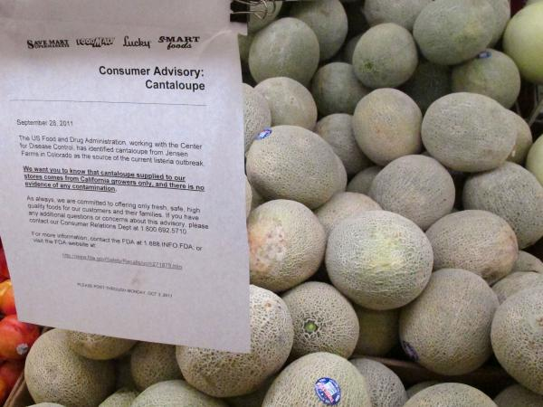 In 2011, the Food and Drug Administration sent an advisory about an outbreak of listeria linked to cantaloupes killed 33 people.