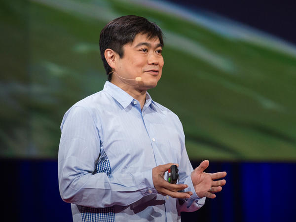 Joi Ito on the TED Stage