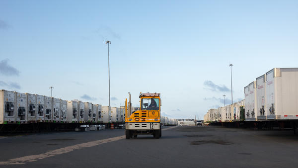 It's one thing to get supplies <em>to </em>Puerto Rico. But officials at the Department of Homeland Security, which administers FEMA, say moving goods <em>around</em> the island is the bigger challenge.