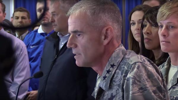 U.S. Air Force Academy Superintendent Lt. Gen. Jay Silveria gathered cadets, staff and others to urge them to have moral courage and protect their institution from racism. A video of the speech was released by the school.