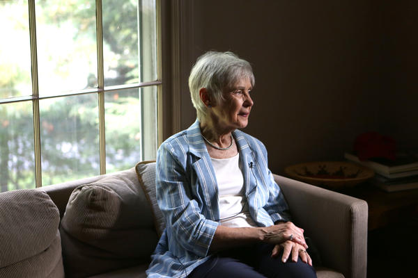 Maureen Scalia, widow of the late Supreme Court Justice Antonin Scalia, pictured in her home in Virginia.