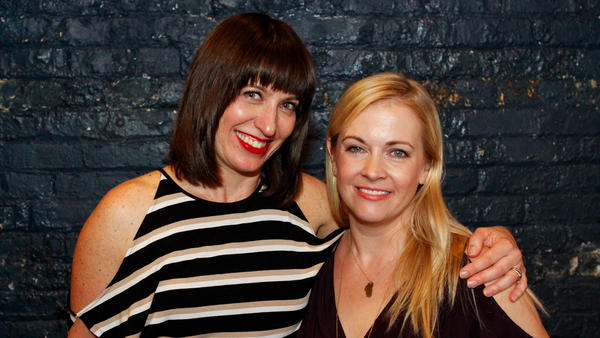Host Ophira Eisenberg with special guest Melissa Joan Hart on Ask Me Another.