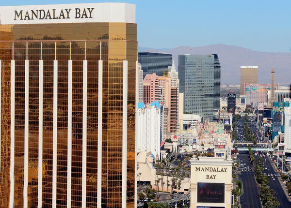 A shooter at the Mandalay Bay Resort and Casino in Las Vegas killed ofer 50 people at a music festival.