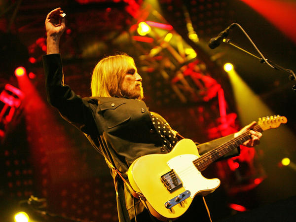 Tom Petty in a 2008 performance at the Outside Lands Festival in San Francisco.