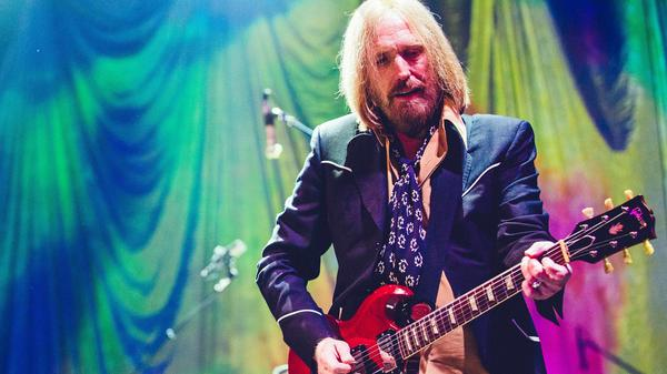 Tom Petty performing live at Wells Fargo Center in Philadelphia, Pa. in September 2014.