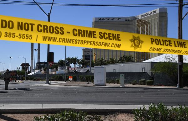 """After a gunman fired from windows in the Mandalay Bay Resort and Casino at the Route 91 Harvest music festival in Las Vegas, guitarist Caleb Keeter, who was on stage Sunday, is calling for gun control — """"RIGHT. NOW."""""""