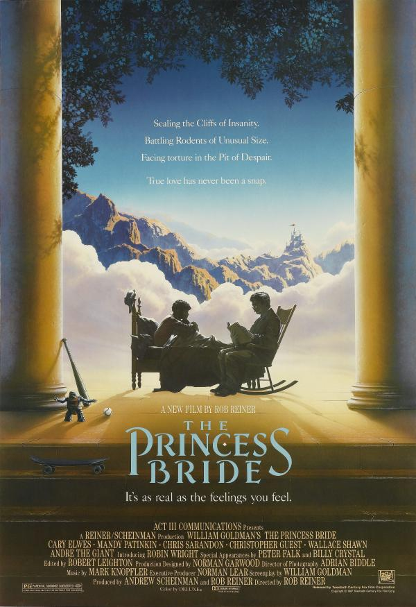 "<em>The Princess Bride</em>, directed by Rob Reiner in 1987, was released 30 years ago. NPR's Linda Holmes says this anniversary is ""a fine opportunity to track it down and watch it, trying not to anticipate its famous lines  — or trying to leave them out of your understanding of it altogether — and just appreciating it for the simple, good-natured, off-kilter comedy it was when it was released."""
