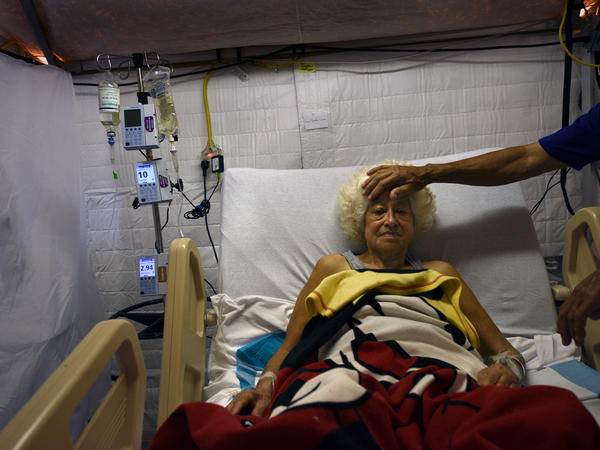 Hospitals in Puerto Rico are dealing with no power, no air conditioning, no local water, no local food, no Internet and very limited communication.