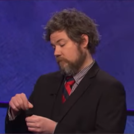 Jeopardy! contestant Austin Rogers.