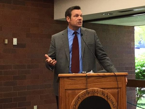 Newly unsealed documents show that Kansas Secretary of State Kris Kobach drafted a proposal for President Donald Trump to change federal voter registration laws.