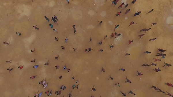 <em>Human Flow</em> is a documentary directed by Ai Weiwei that explores the everyday lives of people fleeing various conflicts around the world.