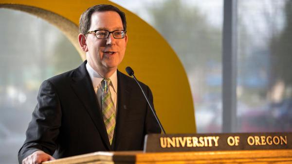 <p>University of Oregon President Michael Schill</p>