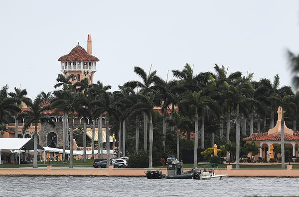 Watchdogs are suing for logs of presidential visitors to President Trump's Mar-a-Lago resort in Palm Beach, Fla.